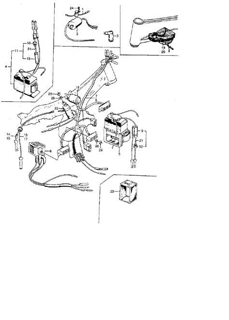 1965 honda s90 wiring diagram wiring diagrams wiring diagram