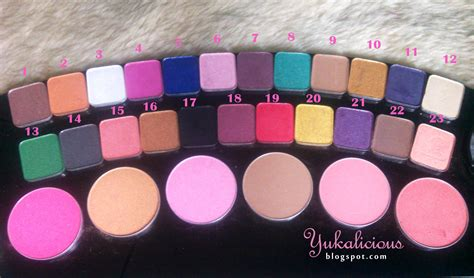 Eyeshadow La Tulipe Review yukalicious review swatch eyeshadow from la tulipe