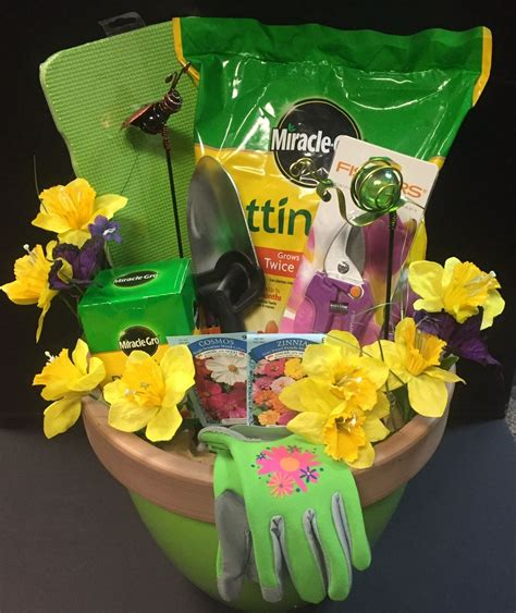 Gardening Basket Ideas Gardening Raffle Basket Raffle Basket Ideas Pinterest Raffle Baskets Basket Ideas And