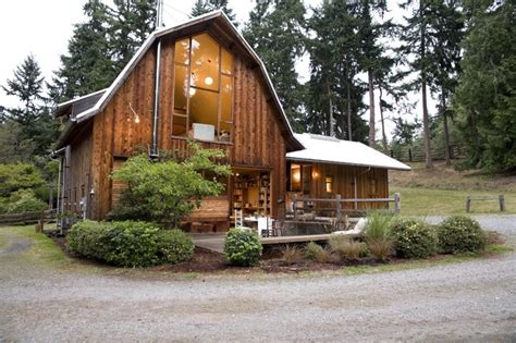 barn conversion rustic exterior