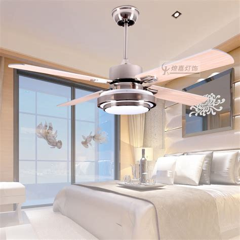 Ceiling Fan In Dining Room by Led Ceiling Fan Modern 42 Inch Fan Dining Room Led