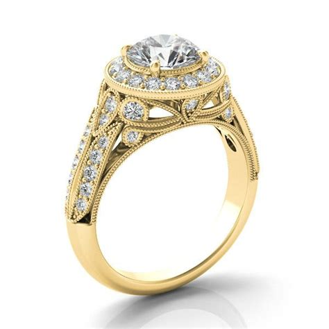 17 best images about moissanite engagement rings on
