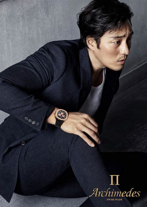 so ji sub business so ji sub just gets better with age in new caign for