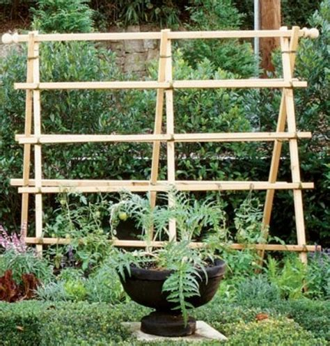 diy trellis ideas going home to roost - Simple Garden Trellis