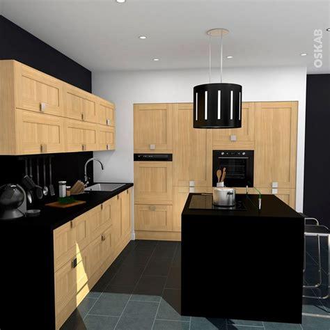 cuisine facade bois cuisine bois verni rustique mod 232 le basilit bois verni