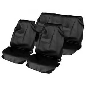 Car Covers Heavy Duty Streetwize Heavy Duty Waterproof Car Seat Covers Black