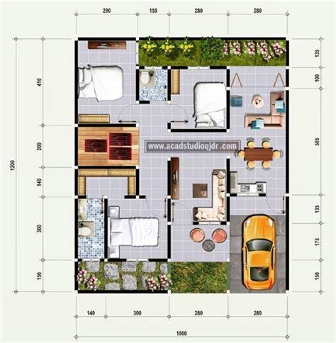gambar denah rumah minimalis  kamar terbaik