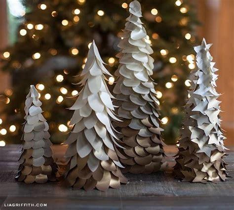 diy un arbol de navidad con papel paperblog