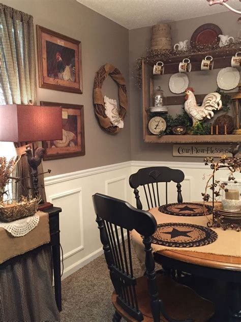 primitive country home decor best 25 primitive dining rooms ideas on
