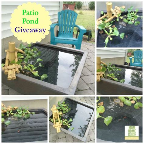 Aquascape Patio Pond by New Patio Pond And Patio Pond Giveaway
