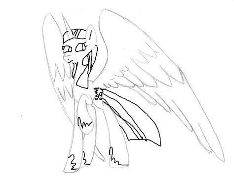mlp princess twilight sparkle pencil coloring pages