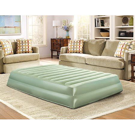 simmons beautyrest 16 quot eco raised air bed with air walmart