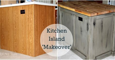 diy kitchen island makeover with plywood and lumber