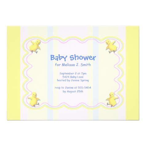 Custom Baby Shower Invitations chickens baby shower 5x7 paper invitation card zazzle