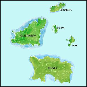 map uk and channel islands channel islands hotels b b guest houses self catering