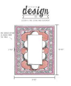 visual guide to rug sizing rug heaven pinterest rugs rug guide a room by room guide to rug sizes one kings