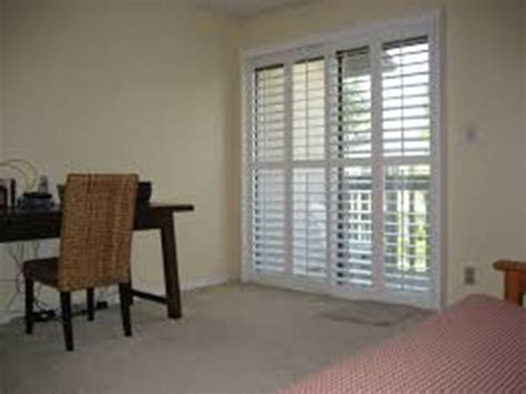 plantation shutters sliding glass door sliding door with blinds inside jacobhursh