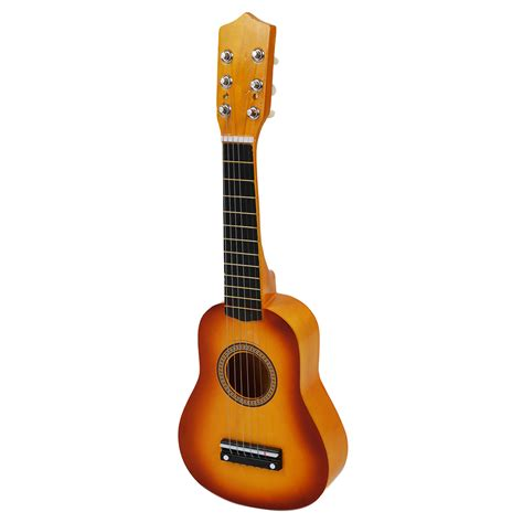 Gitar Mini Classic 6 Strings Ukulele Gitar Kecil 6 Senar hawaii ukulele mini guitar 21 inch acoustic ukulele