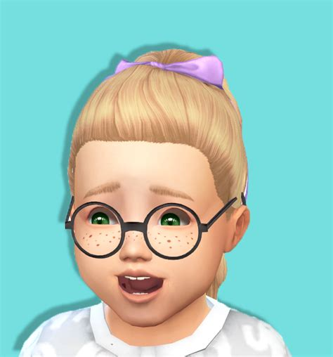 ponytailsims 4 child shysimblr