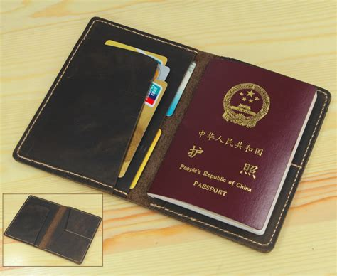 Leather Travel Wallet Passport Cover aliexpress buy vintage genuine leather passport