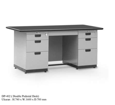 Meja Kantor Termurah meja kantor alba dp 402 furniture kantor jual