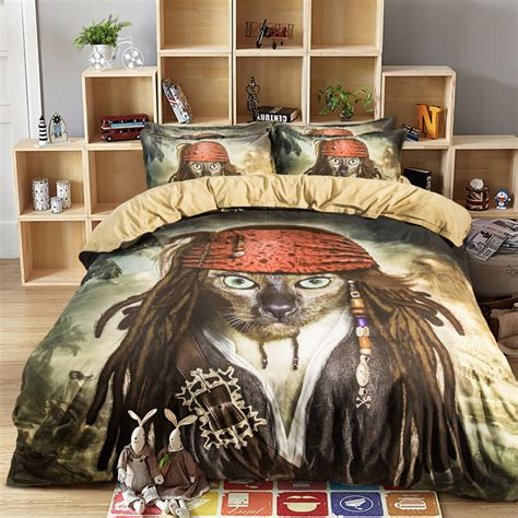 pirate comforter queen pirate comforter sets promotion shop for promotional pirate comforter sets on aliexpress
