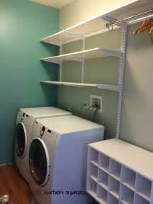 Laundry Room Storage Shelves Laundry Room Makeover Do Able Details Heartworkorg