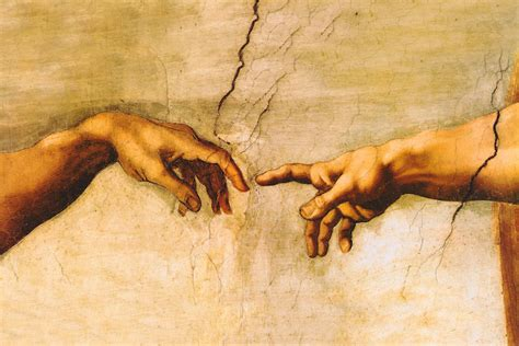the creation of adam 1510 canvas artwork by