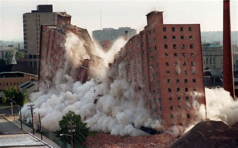 nj housing authority the joy of watching huge buildings implode