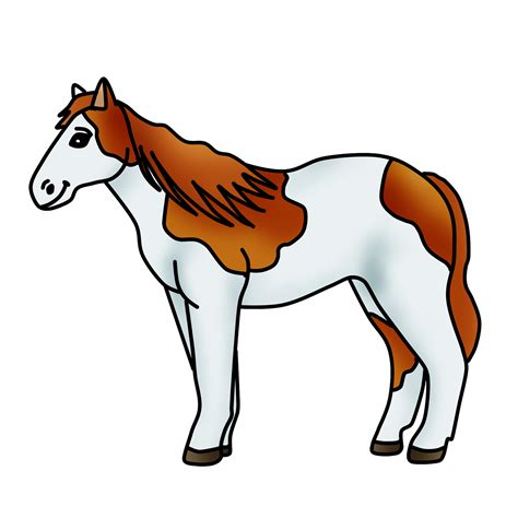clipart graphics spotted clipart pony graphic free clipart by