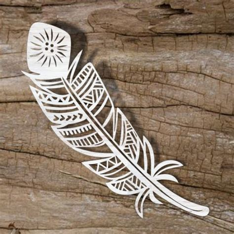 Feather Template For Laser Cutting Online Store For Laser Cut Patterns Free Laser Cut Designs Free Laser Engraving Templates