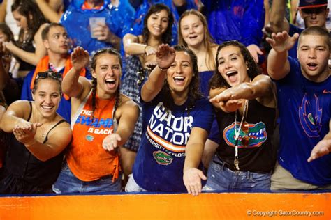 florida gator fan forum gameday for another student athlete ryann s perspective