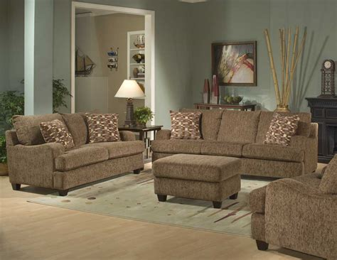 Livingroom Furniture Sets Plushemisphere Elegant Brown Sofa Sets
