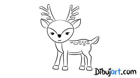 imagenes para colorear venado c 243 mo dibujar un venado ciervo dibujos de animales del