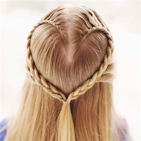 Braid Hairstyles For Ages 5 7 by Create A Hair Braid For S Day Popsugar