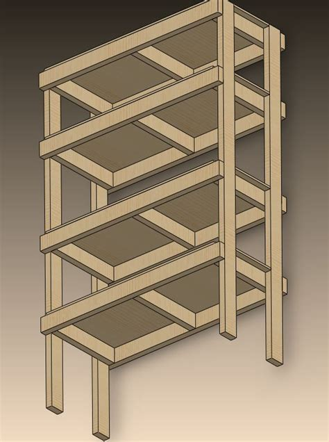 diy 2x4 plywood shelf plans plans free