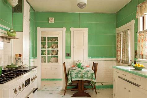 1930s kitchen floors 17 best ideas about art deco kitchen on pinterest art deco tiles classic green bathrooms and