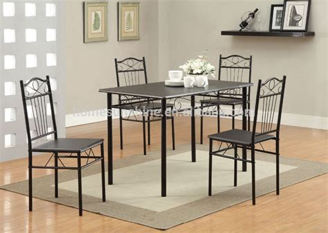 metal dining room furniture metal dining room furniture table and chair set buy