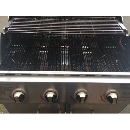 set of three stainless steel heat plates for backyard