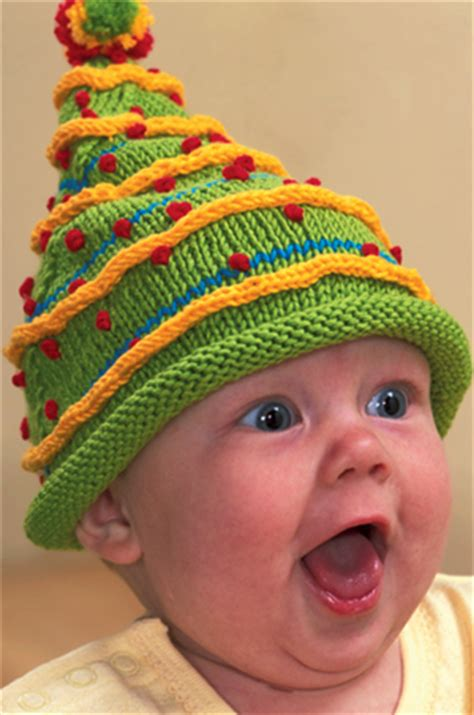 free knitting pattern baby christmas tree hat super quick christmas decorating stitch this the