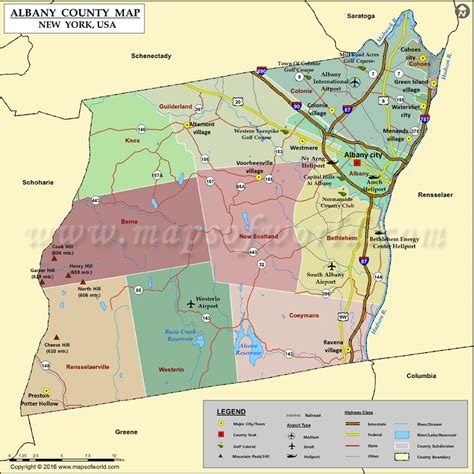 map albany ny albany county map map of albany county ny
