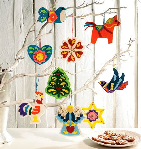 art review pattern and decoration mccall s 6674 christmas decorations