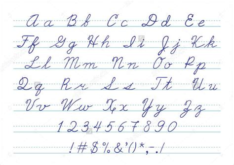 printable letters in cursive 6 printable letters psd vector eps format download