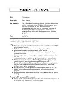 Telemarketing Resume Sles by Sales Travel Resume Sales Sales Lewesmr