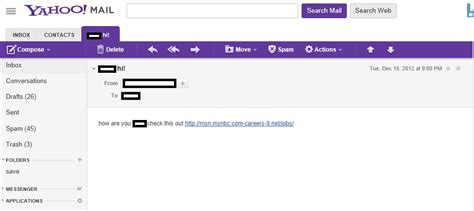 yahoo email hacked sending spam hacked yahoo email account sends out spam markdigital com