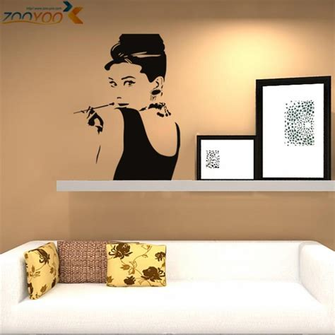 hepburn wall stickers the world s catalog of ideas