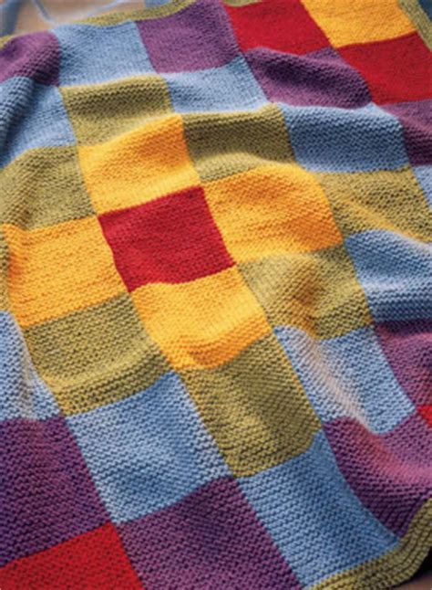 Knitting A Patchwork Blanket by Patchwork Blanket Pattern Knitting Patterns And Crochet
