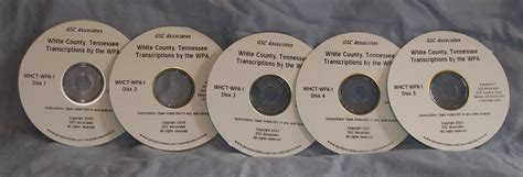 White County Records White County Tennessee Records Transcribed And Indexed By The Wpa