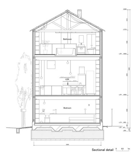 small footprint three story house plans studio