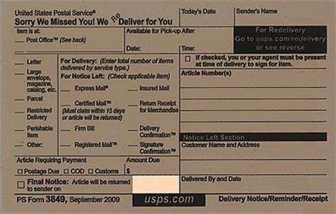 Does Usps Deliver To Your Door by Usps Redelivery Service